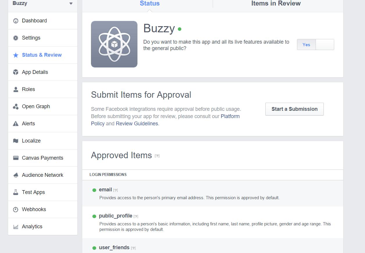 Buzzy   Documentation