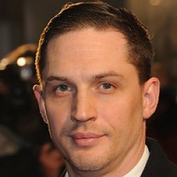 Tom Hardy sans beard.
