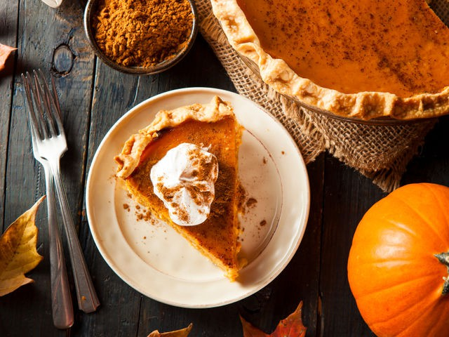 Pumpkin pie, who can forget this fall classic?!