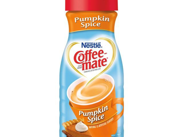 Pumpkin flavored coffee creamer (make your own PSL at home!).