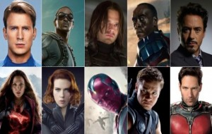 Who's Your Favorite Marvel actor?