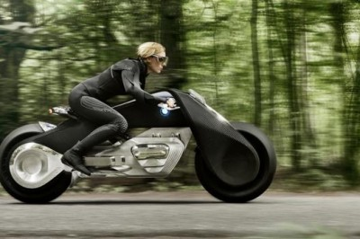 BMW's un-crashable motorbike?