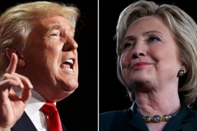 Trump, Clinton begin final weekend sprint